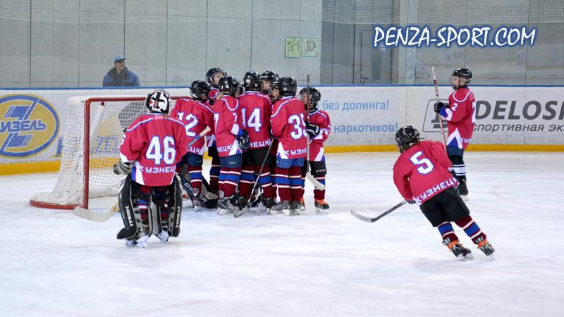 Юные кузнецкие хоккеисты выиграли домашний межрегиональный турнир