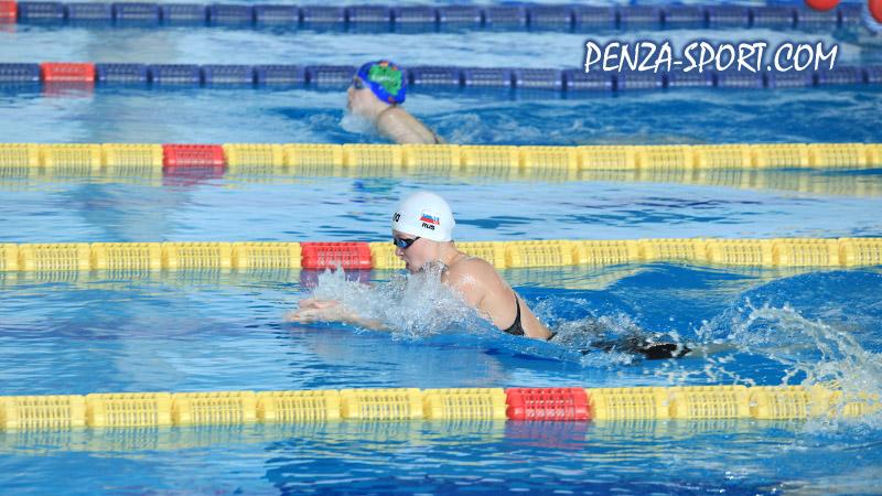 Пензенские пловцы удачно стартовали на чемпионате ПФО