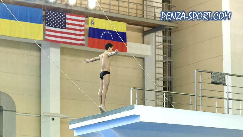 Колумбиец Алехандро Мунос выиграл «золото» на первенстве мира по прыжкам в воду в Пензе